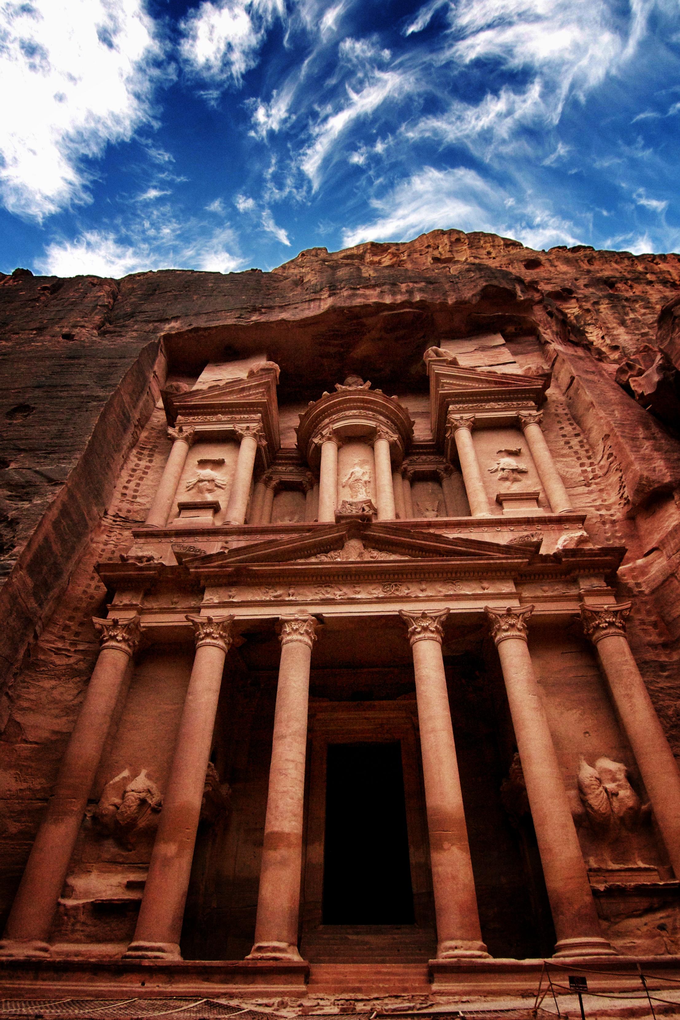 The Petra Treasury The Extraordinary Literary Historical